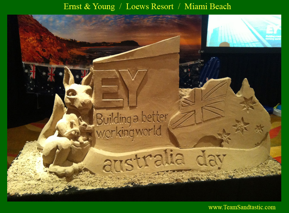 Ernst & Young Sand Sculpture