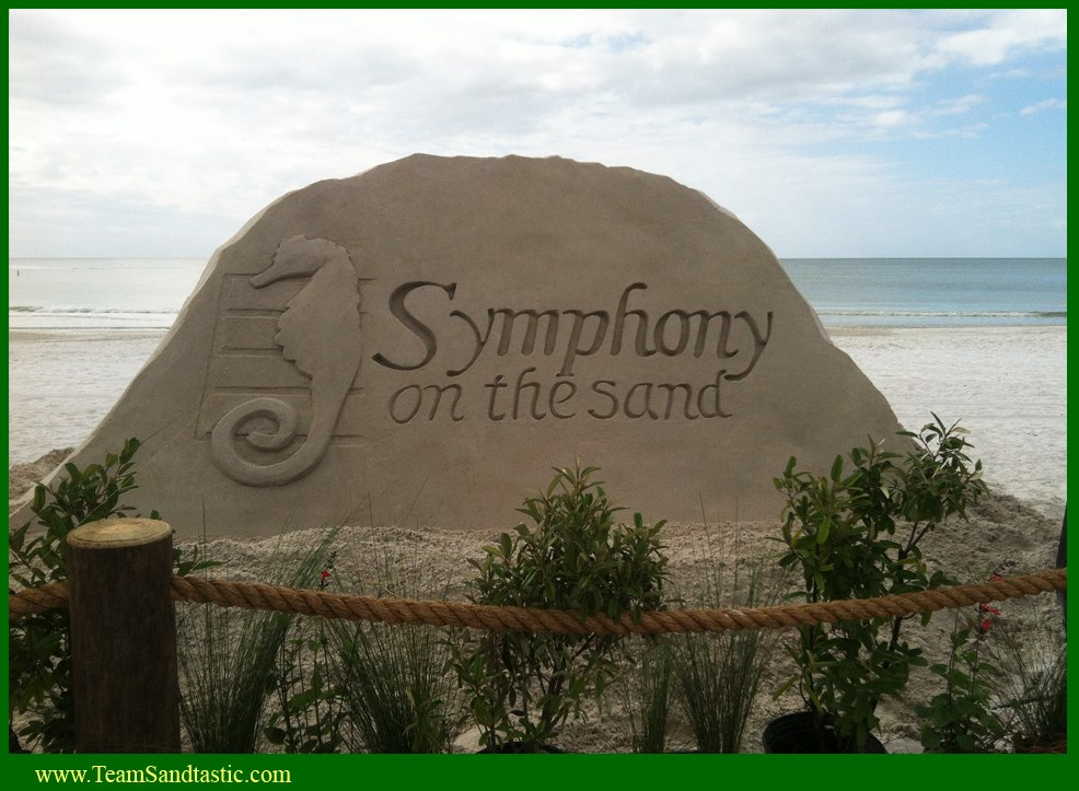 Symphony on the Sand Sculpture