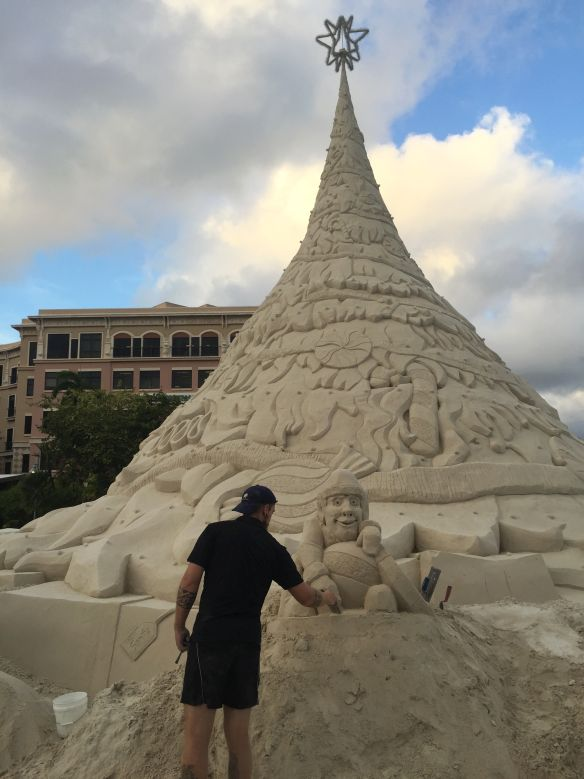 West Palm Beach Sand Sculptures